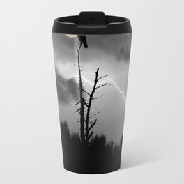"""POTUS Trump has something to crow about: """"There is no collusion"""". Travel Mug"""