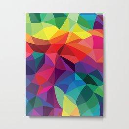Color Shards Metal Print