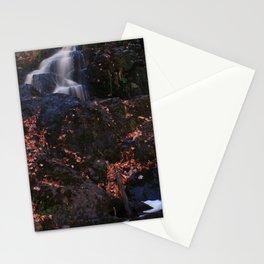 Waterfall Wyandotte Falls, MI Stationery Cards