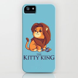 The Kitty King - Light Ver iPhone Case