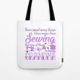 Sewing Grandma Tote Bag
