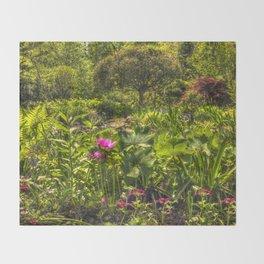 Garden Dream Throw Blanket