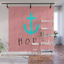 Christian Anchor of Hope Wall Mural