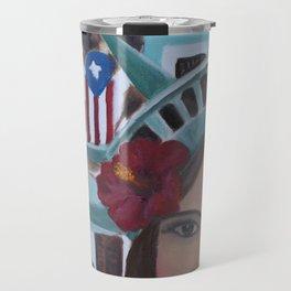 Julia de Burgos en San Juan, Puerto Rico Travel Mug