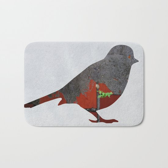 Little Garden Bird Bath Mat