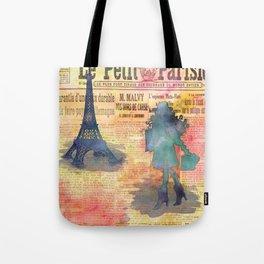 Shopping in Paris Tote Bag
