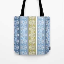 Blue Cornflower Pattern Tote Bag
