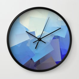 Cubism Abstract 193 Wall Clock