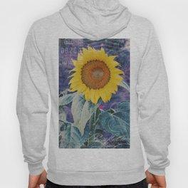 Tournesol Carte Postale - Sunflower Postcard Hoody