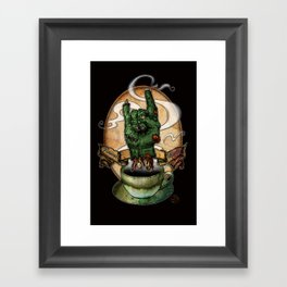 The Redeye Framed Art Print