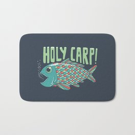 Holy Carp! Bath Mat