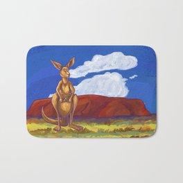 Animal Parade Kangaroo Bath Mat