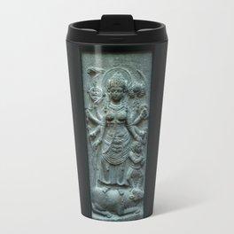 Stone Durga  Travel Mug