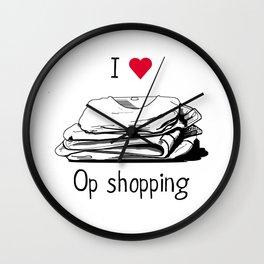 I love op shopping Wall Clock