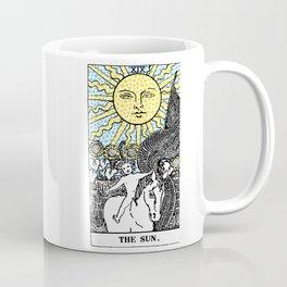 Modern Tarot Design - 19 The Sun Coffee Mug