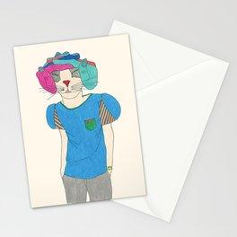 finger hat Stationery Cards
