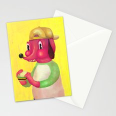 my kind of burger Stationery Cards