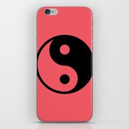 Yin Yan in red iPhone Skin