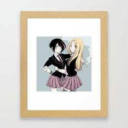 Eako and Lana Framed Art Print
