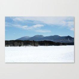 Bigelow Winter Canvas Print