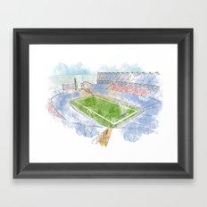 Gillette Stadium Framed Art Print