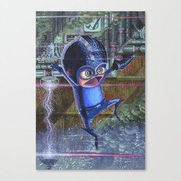 Old School Megaman Canvas Print