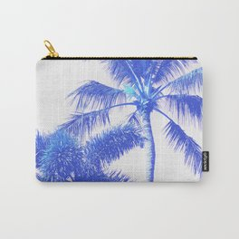 Blue Palm Paradise Carry-All Pouch