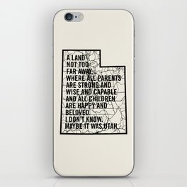 Raising Arizona - Maybe It Was Utah iPhone Skin