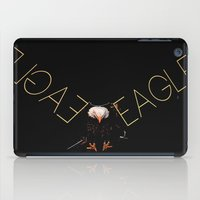 eagle iPad Cases featuring Eagle by Ganech joe