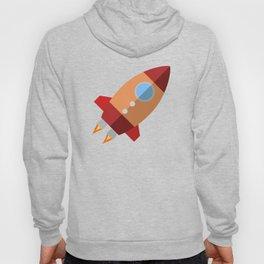 Rocket Ship Hoody