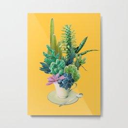 Arid garden Metal Print