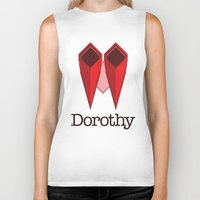 dorothy Biker Tanks featuring Dorothy by Winter Graphics