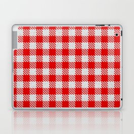 Red Buffalo Plaid Laptop & iPad Skin