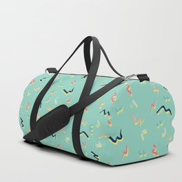Playful Scribbles #society6 #decor #buyart Duffle Bag