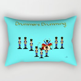 12 Days Of Christmas Nutcracker Theme: Day 9 Rectangular Pillow