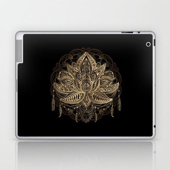 Lotus Black & Gold by christineiris