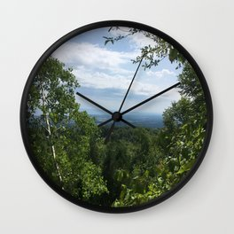 The view Wall Clock