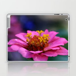 colourful macro flower Laptop & iPad Skin