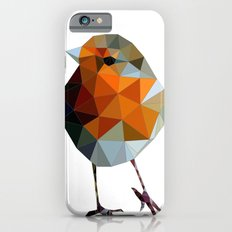 Christmas Poly robin iPhone 6s Slim Case