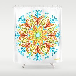 Gracias a la Vida (FB) Shower Curtain