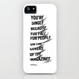 Single iPhone Case