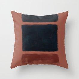 Rothko Inspired #27 Throw Pillow