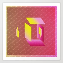Music in Monogeometry : Camera Obscura Art Print
