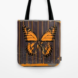 SHABBY CHIC ANTIQUE BUTTERFLY ART Tote Bag