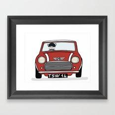 Mini I love you Framed Art Print