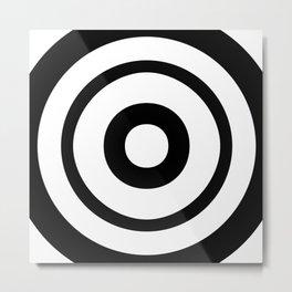 Target (Zuboshi) Metal Print