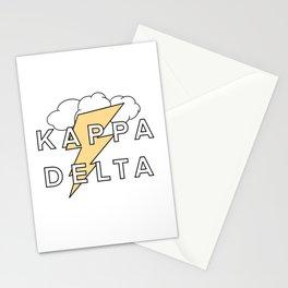 Lightning KD Stationery Cards