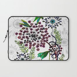 Weeds, Wishes & Dragonfly Kisses Laptop Sleeve