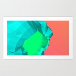 Telos - Asteroid Art Print