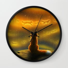 See You There Wall Clock